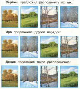 Стр 27 номер 3 учебник Окружающий мир 1 класс 2 часть