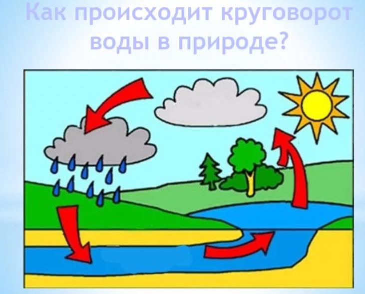 Стр 69 рабочая тетрадь Окружающий мир 3 класс 1 часть Плешаков ответы - круговорот воды в природе